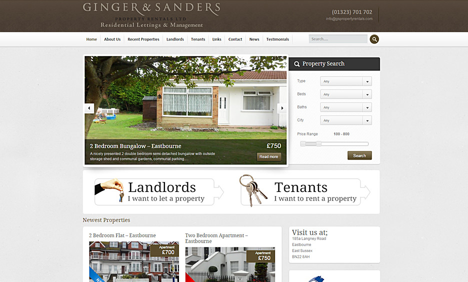 Ginger & Sanders Property Rental