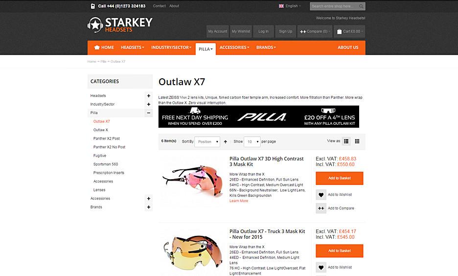 Starkey Headsets