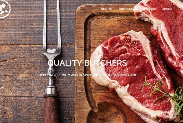 Rare Butchers Wordpress